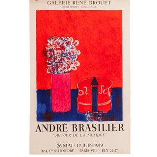 Mid-Century Parisian Art Gallery Poster