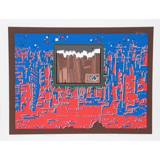 "Risaburo Kimura, ""City 367,"" Serigraph"