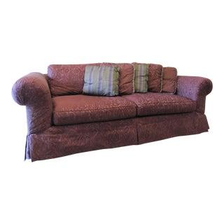 Drexel Heritage Plum Sofa