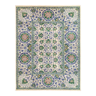 """Hand Knotted Suzani Area Rug - 8' 10"""" X 11' 8"""""""