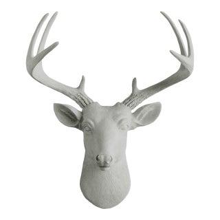 Wall Charmers Mini Deer in Gray Faux Head Mount Bust