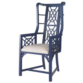 Taylor Burke Home Fretwork Accent Chairs - A Pair