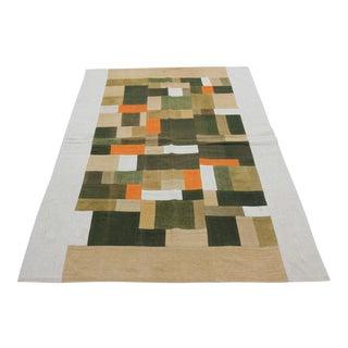 Vintage Turkish Curtain Perde Kilim Patchwork Rug - 2′6″ × 6′1″