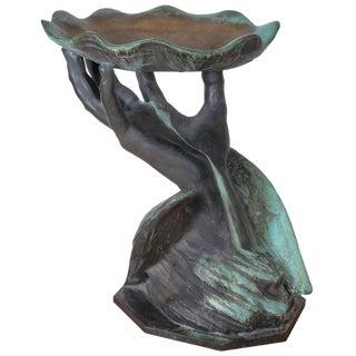 Bronze Birdbath