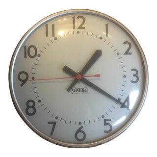 1961 Vintage Mid-Century Standard School Wall Clock