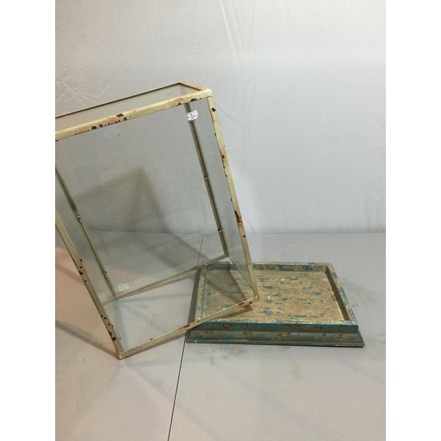 Image of Antique Shabby Chic Display Case