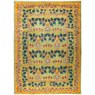 """Suzani Hand Knotted Area Rug - 9'8"""" X 13'3"""""""
