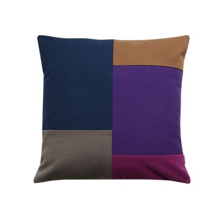 Color Blocking Throw Pillow Case