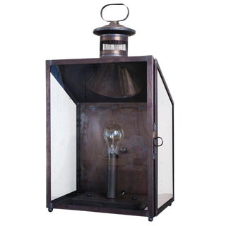 """Calhoun"" Hand-Made American Indoor/Outdoor Wall Lantern"
