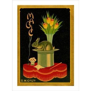 Vintage British Trade Label 'Magic' Archival Print
