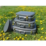 Image of Vintage Suitcases - Set of 4