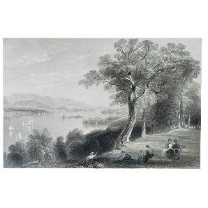 """1883 Antique Print """"Hyde Park"""""""