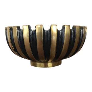 Vintage Pall-Bell Brass Bowl