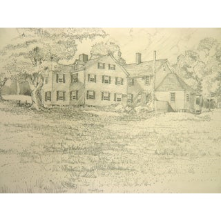 'Country Home' Original Drawing