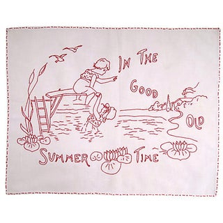 """In the Good Old Summer Time"" Embroidery"