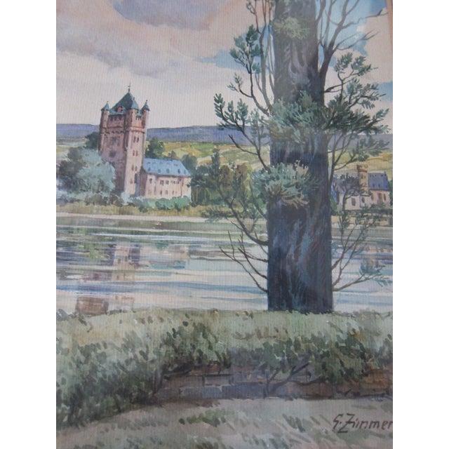 Zimmermann Vintage German Landscape Print - Image 7 of 11