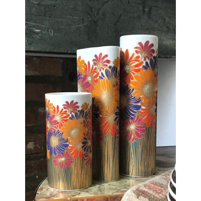Rosemund Nairac for Rosenthal Studio Line Vases - Set of 3 - Image 3 of 5
