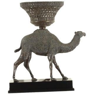 Pasargad N Y Bronze Camel Sculpture Statue