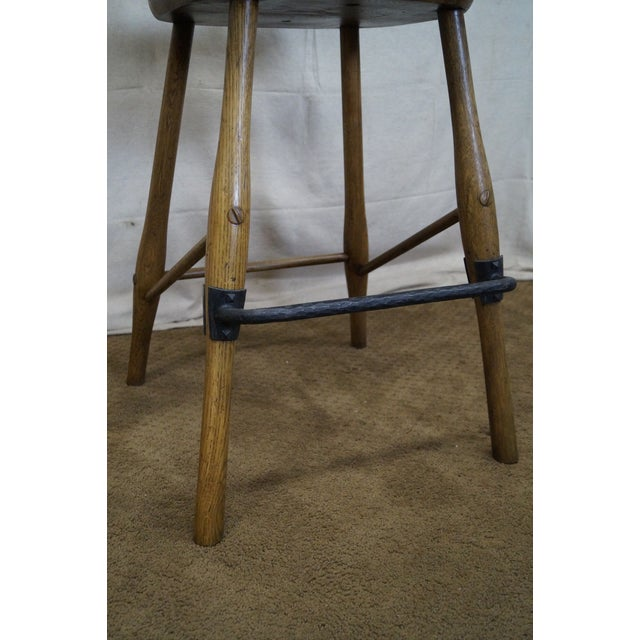 Jonathan Charles Architect's Arm Chair - Image 8 of 10