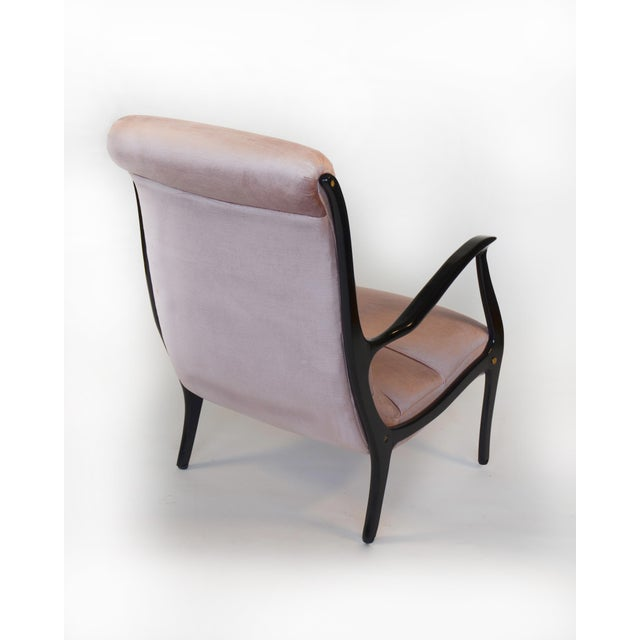 Restored Ezio Longhi Lounge Chairs - A Pair - Image 4 of 5