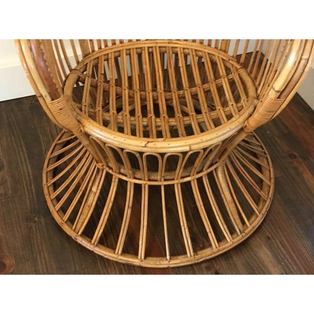 Gio Ponti Style Rattan & Bamboo Chairs - Image 5 ...