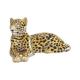 Italian Ceramic Cheetah