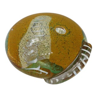Seguso Art Glass Paperweight