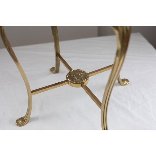 Image of Hollywood Regency Style Vanity Stool