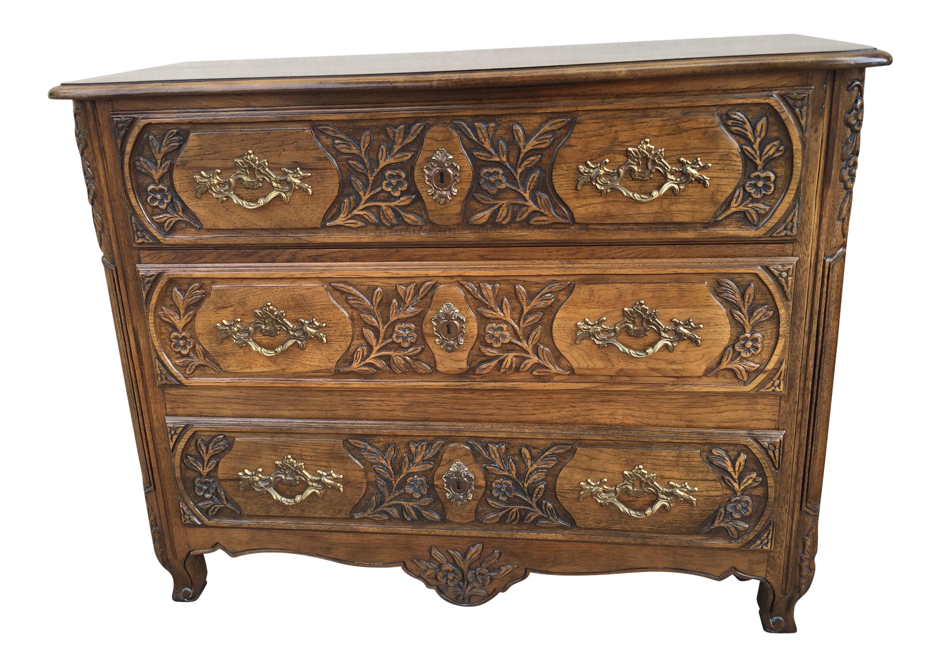Baker Furniture Company French Style Chest Dresser