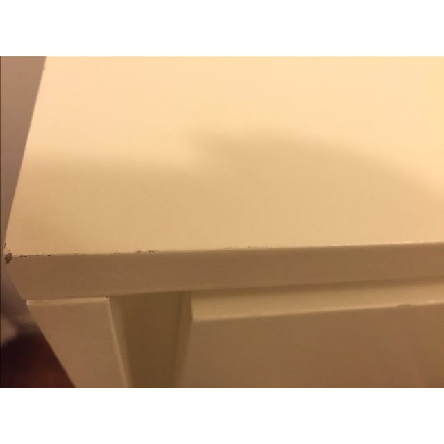 Image of West Elm Niche 4-Drawer Dresser in White