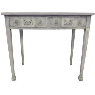 French Gray Painted Desk
