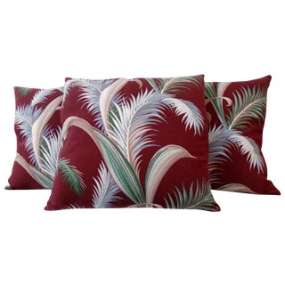Tropical Print Pillow - 3 Available