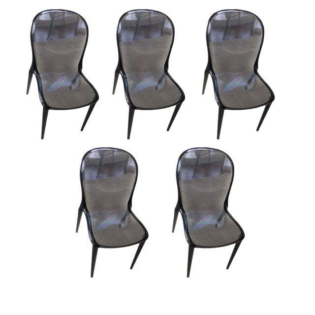 Grey Kartell Thalya Dining Chairs - Set of 5 - Image 1 of 8