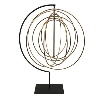 Modern 7-Ring Brass Armillary