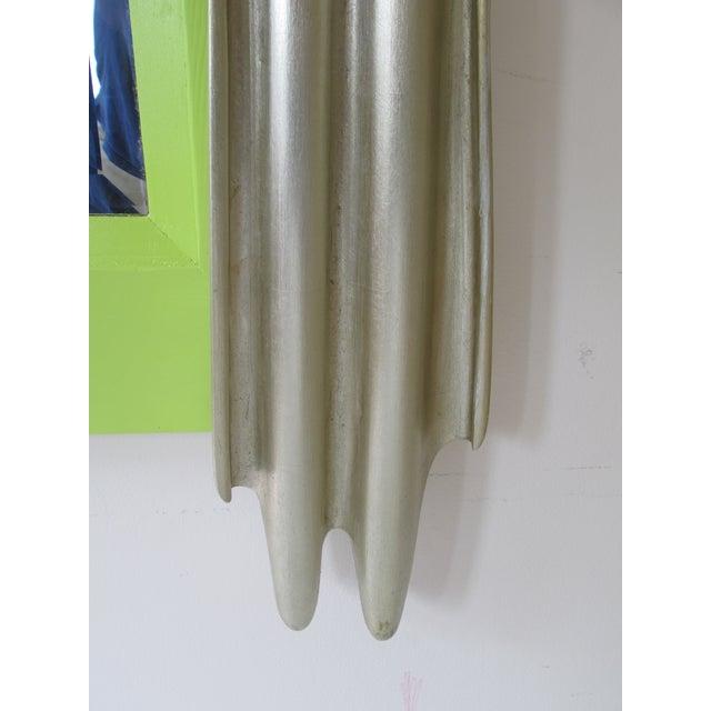 Lorin Marsh Green Drape Style Mirror - Image 3 of 4