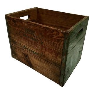 Vintage Canada Dry Beverage Crate