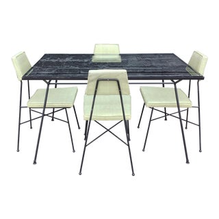 1950's Dinette Set by Vista & Pacific Iron - Set of 5