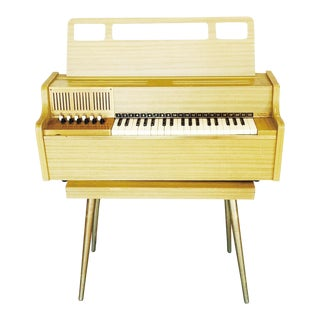Mid-Century Toy Organ by Magnus
