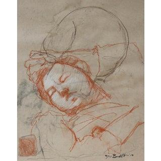 Elizabeth en Couchée Sketches