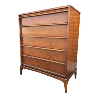 Lane Mid-Century Modern Rhythm Highboy Dresser