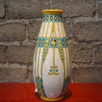Image of Charles Catteau Three Color Patterned Vase