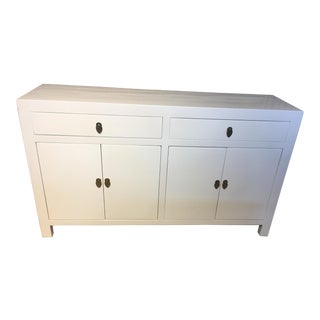 White Lacquered Asian Dresser