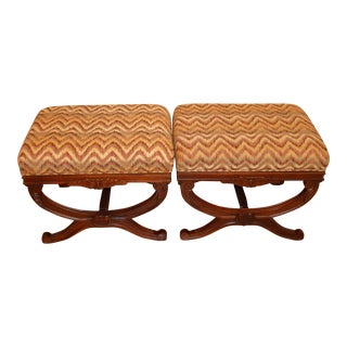 Sam Moore Benches - A Pair
