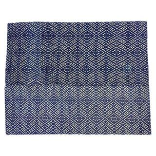 Antique Chinese Blue & White Wedding Quilt