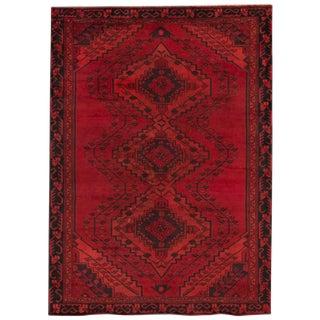 "Apadana - Vintage Persian Overdyed Rug, 4'7"" x 6'4"""
