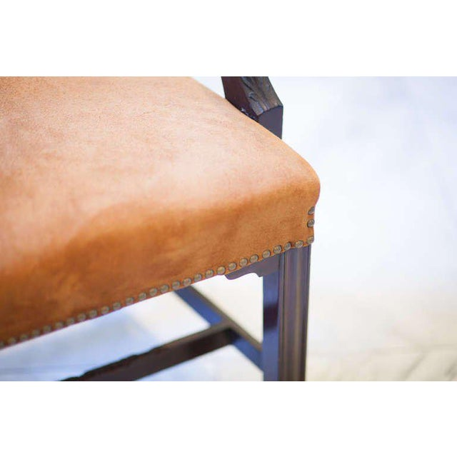 Pair of Mahogany Ladder Back Chairs - Image 2 of 8