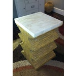 Image of Stone & Resin Cocktail Table