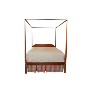 Irion Furniture Company Queen Sized Four Pencil Post Bed