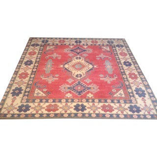 Traditional Wool Rug - 7′2″ × 7′11″