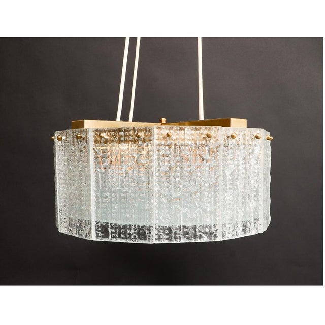 Carl Fagerlund for Orrefors Chandelier - Image 4 of 8